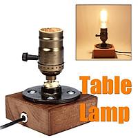 Chuôi bóng đèn bằng gỗ phong cách vintage