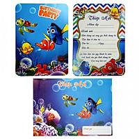 Combo 10 thiệp mời sinh nhật Nemo