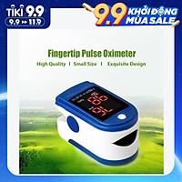 Máy đo nồng độ oxy đầu ngón tay màn hình kỹ thuật số OLED xoay 2 chiều tự động Fingertip Pulse Oximeter Blood Oxygen
