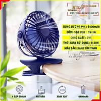 Quạt tích điện mini HT SYS - Yoobao Y-F04 - 6400mAh - Hàng Nhập Khẩu