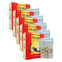 Combo 5 Thực phẩm chức năng Tỏi đen Kochi nhiều nhánh 180g/túi