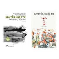 Sách combo Nguyễn Ngọc Tư: Cánh đồng bất tận và hành lý hư vô tặng sổ tay VDT