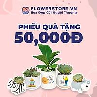 Toàn quốc [E-voucher] - Ưu đãi 50K Flowerstore giao ngay trong ngày