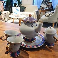 Beauty And The Beast Teapot Cartoon Mug Mrs Potts Chip Tea Pot Cup Set Xmas