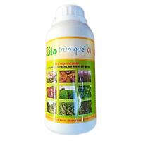 Phân bón hữu cơ sinh học Dịch trùn quế thủy phân - Phân trùn quế BIO 01 kích thích ra rễ và tốt lá (chai 500ml)