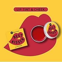 Son dưỡng môi có màu BareSoul Best Kisser Lip Tint & Cheek hộp 10g