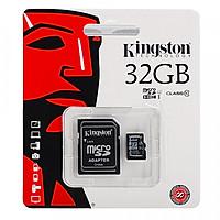 Thẻ Nhớ Micro SDHC Kingston 32GB Class 10 (Có Adapter)...
