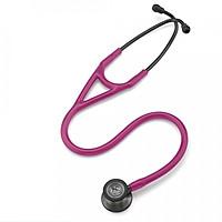 Ống nghe y tế 3M Littmann Cardiology IV, mặt nghe màu khói, dây nghe màu đỏ mâm xôi, 27 inch, 6178