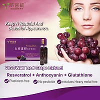Vigoway Red Grape Extract Contains Resveratrol 10 bottles