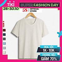 Áo Thun Nam 5S (7 màu) Tay Ngắn Premium, Chất Liệu Cotton Mềm Mại, Thấm Hút Mồ Hôi, Co Giãn Thoải Mái (TSO21023)