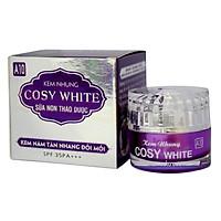 Kem nám-tàn nhang-đồi mồi-ngừa lão hóa da-giảm nhăn da-bảo vệ da Cosy White sữa non thảo dược A10 18g