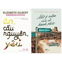 Combo 2 cuốn tiểu thuyết: Ăn,Cầu Nguyện,Yêu + Một ý niệm khác về hạnh phúc