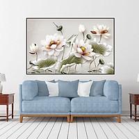Tranh Hoa sen trang trí -tranh canvas treo tường