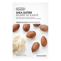 Mặt Nạ Giấy The Face Shop Real Nature Shea Butter Face Mask 32500403 (20g)