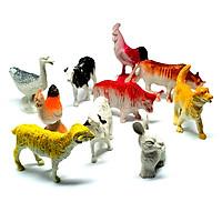 COMBO 2 Mô hình thế giới động vật ANIMAL WORLD  cho bé trên 3 tuổi (120 con vật )