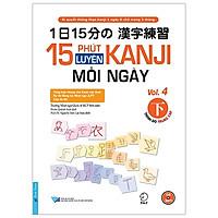 16 Phút Luyện Kanji Mỗi Ngày - Vol 4