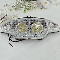 Pha đèn DÀNH CHO xe máy WAVE đời cũ có 12 bóng đèn LED siêu sáng - B371