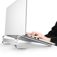 VINETTEAM Giá Đỡ Laptop Máy Tính Bảng Để Bàn Hợp Kim Nhôm Cao Cấp  Giúp Tản Nhiệt Gọn Nhẹ Sử Dụng Từ 10 - 18 Inch - hàng chính hãng