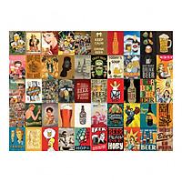 Set 50 tấm 22x30cm decal dán tường trang trí decor quán nhà cửa chủ đề Bia - Beer