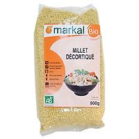 Hạt kê hữu cơ đã bóc vỏ Markal 500g