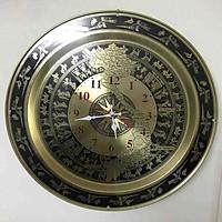 Đồng hồ mặt trống đồng bản đồ  đk 40cm