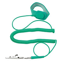 Pro'skit AS-611 green anti-static wrist strap with wire protection fixed elastic bracelet