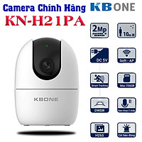 Camera wifi ip KBONE KN-H21PA Full HD 1080P xoay 360 độ đàm thoại 2 chiều , đèn hồng ngoại ban đêm , hỗ trợ sử dụng thẻ nhớ lên tới 256G
