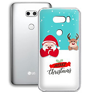 Ốp lưng điện thoại LG V30 - 01253 7937 XMAS10 - Merry Christmas - Silicon dẻo - Hàng Chính Hãng
