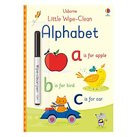 Usborne Little Wipe-Clean: Alphabet