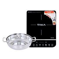 Bếp Từ Đơn Taka TKI1H20 (2000W) - Kèm Nồi Lẩu - Hàng chính hãng