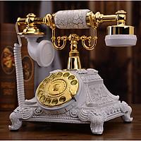 Điện thoại để bàn tân cổ điển mạ vàng titan DT13
