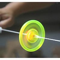 Set 2 Con Quay Fidget Dây Kéo Bằng Tay Có Đèn LED Mẫu Ngẫu Nhiên 7cm