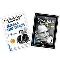 COMBO Sách Doanh Nhân 1 (Steve Jobs Sức mạnh của sự khác biệt + Tự truyện Chung ju Yung: Không bao giờ là thất bại! Tất cả là thử thách) Tái bản 2020