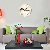 Tranh đồng hồ treo tường đẹp DHT-141
