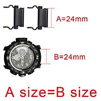 1 Pair Multi-functional Outdoor Survival Tools Bracelet Watch Link Buckle