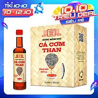 Nước mắm nhỉ cá cơm than Làng Chài Xưa 525ml (01 chai) sánh đặc thịt cá 300 năm truyền thống
