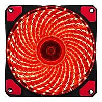 Fan Case VSP 12cm LED 33 Bóng - Đen-Hàng Chính Hãng