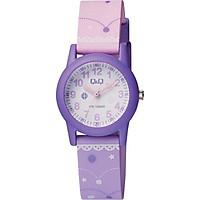 Đồng hồ trẻ em Q&Q Citizen VR99J006Y dây nhựa thương hiệu Nhật Bản