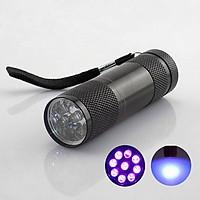 EDC Portable UV Ultra Violet Blacklight LED Flashlight Torch Light Aluminum Lamp