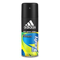 Xịt Khử Mùi Toàn Thân Nam Adidas Get Ready 150ml