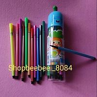 Bộ bút lông dạ màu 12_18_24 màu