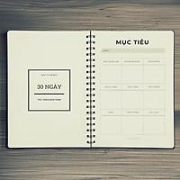 Sổ tay planner thách thức và rèn luyện bản thân trong 1 tháng- Giao Mẫu Ngẫu Nhiên