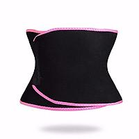Đai nịt bụng hỗ trợ giảm mỡ bụng Sweet Sweat Waist Trimmer - Viền hồng, đen, vàng - Giao ngẫu nhiên