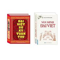Combo Đại Việt sử ký toàn thư (bìa cứng) , Văn Minh Đại Việt (bìa cứng)