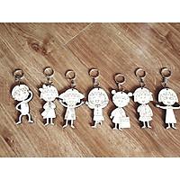 Đồ chơi tô màu gỗ cô bé Maruko, quà tặng đáng yêu cho các bé gái