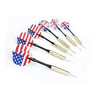 Combo 5 chiếc phi tiêu châm kim lá cờ Anh Mỹ