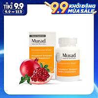 Viên uống chống nắng nội sinh Murad POMPHENOL SUNGUARD DIETARY SUPPLEMENT hộp 60 viên SKU 15094