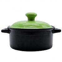 Nồi gốm sứ Royalcooks Molise 4L nắp xanh táo
