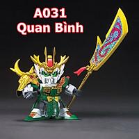 Mô hình LEGO A031 Gundam tướng Quan Bình - Quà tặng cho bé