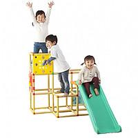 Đồ chơi vận động dạng khung kèm cầu trượt Nonaka đa năng dành cho bé (Made in Japan)